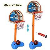 deAO Jeu de Basketball Indépendant Ensemble de Sport pour Enfants Set de Basketball Portable Hauteur...