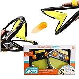 Tennis de Table Jouet Catch Ball Sports Jeux de Raquettes Jouet Enfants Adulte Intérieur Extérieur 4 Balles...