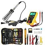 zeepin D60 Kit de Fer à Souder Electronique, Electrique Kit de Soudage avec Sac à Outils, Fer à Souder à...