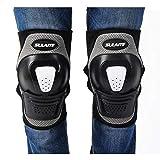 ZMJY Genouillères Adultes, briser-résistant réglable Genou Cap Protecteur Roller, équitation Sports Gear,...
