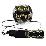 Mture football d'entraînement Ceinture,Ballon de football d'entraînement avec élastique Ceinture...