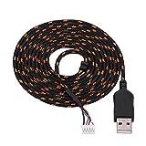 Richer-R 2.2 Mètres Haute Qualité USB Câble de Souris Pièce De Rechange Accessoire de Réparation pour...