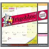 Frigobloc 2020 Mensuel - Calendrier d'organisation familiale par mois (de sept 2019 à décembre 2020): Le...