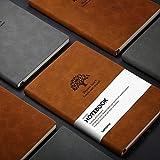 GRIS Dotted Bullet Journal/Dotted Carnet de Notes - Lemome Medium A5 Bullet Journal - Papier de Qualité...