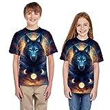 Moneycom T-Shirt Adolescent en Bas âge, Adolescent, Enfant, Filles, garçons, été, 3D, vêtements...