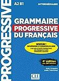 Grammaire progressive du français - Niveau intermédiaire - 4ème édition - Livre + CD + Livre-web 100%...