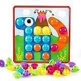 QHWJ Jouets pour Enfants, Bouton permettant d'assembler de Gros Cadeaux de Jouets créatifs