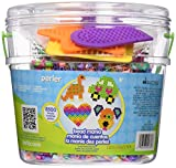 Perler Fun Fusion fusible en Plastique Bucket-Bead Mania