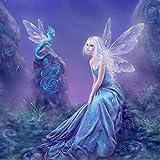 2018 Fantasy Wonderland Series-5D Peinture en Diamant DIY Point de Croix en Résine Décoration de Maison...