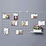 Mettez à niveau le support de grille, la photo de panneau d'aiguille de décoration de mur de fer de...