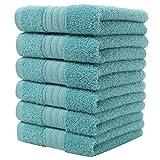 Graceaier Coton doux Grande Ensemble de serviettes à main ( 6-pack, 41 x 71 centimetre) - Multipurpose...