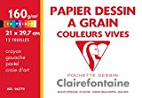 Clairefontaine - 96770c - 12 feuilles dessin