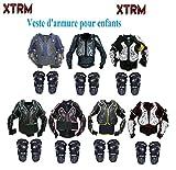 Veste de Protection Moto XTRM Veste Armor Enfant Corps Nouveau Cyclisme Vélo Quad MX Cours Hors-Piste Armure...