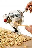 Machine pour Gnocchetti manuel. En acier chromé et plastique certifiée pour usage alimentaire. Rapide à...