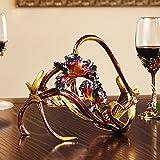 QXX Vin Rack Couleur émail décoration Maison européenne créative casier à vin personnalité Mignon Mettre...