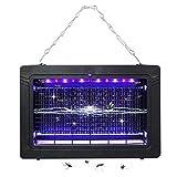 WDqgwen 7 W LED Ray Électronique Mosquito Killer UV Light Lamp Construit en Ventilateur Insect Killer Lampe...