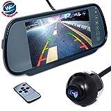 Auto Wayfeng WF caméra vue arrière de voiture étanche 170 degrés angles de vision & PAL système + 7 'LCD...