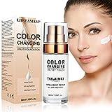 Fondation liquide,Foundation liquide,Color Changing Liquid Foundation,BB creme,Couvrant Imperfections Liquide...
