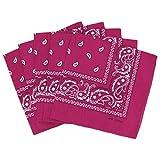 KARL LOVEN Lot de bandanas 100% Coton paisley foulard fichu 25 couleurs au choix Lot 5/10 / 20 Bandanas (Lot...