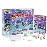 Kit Fabrication Savon Loisirs Creatifs Galaxie Spa Bath Toys Savonnette pour Fille de Forme de Planete Etoile