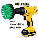 Oxoxo perceuse Brosse–10,2cm Medium Raideurs Power Brosse à récurer Nettoyage de perçage pour...