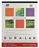 Grafix Wet Media .004Dura-lar Film, 27,9cm par 35,6cm, 12Feuilles