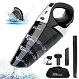 Aspirateur à Main Sans Fil, HIKEREN Aspirateur Portable Sans Fil Rechargeable 100W Aspirateurs a Main...
