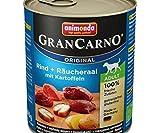 Grancarno Adult - Anguille fumée + 800g de Pommes de terre, Animonda, Animonda, Conserves de Chiens