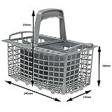 First4spares - Panier À Couvert pour Lave-Vaisselle Hotpoint (12cm x 13cm x 24cm)