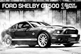 Ford Mustang Poster Shelby Gt500 Supersnake