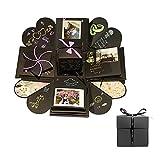 Boîte-cadeau d'explosion d'album photo pour le partage de Diy de mémoire de famille Surprenant