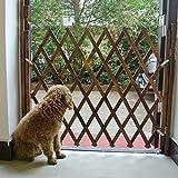 ToDIDAF - Clôture en bois pour petit animal domestique - Isolation réglable pliable - Porte de porte...