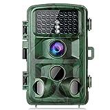 Caméra de Chasse TOGUARD 14MP 1080P avec 42 LEDs Infrarouge Vision Nocturne 22M Caméra Surveillance de la...