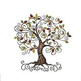 LIGHT YEARS-DS Tenture Murale en Trois Dimensions de Fer, Riche décoration de Mur de Maison d'arbre Salon...