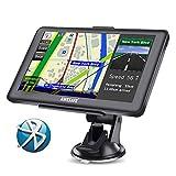 GPS Voiture Auto Europe 7 Pouces Ecran Tactile Bluetooth Cartographie Europe 52 à Vie Mise à Jour Gratuite...