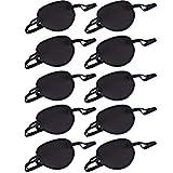 Patch d'oeil(10 Pcs),avec Sangle réglable Cache-Oeil Enfants Adultes Masque pour Amblyopie Oeil Paresseux...