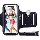 Mpow Brassard Sport iPhone 7/8/6/ 6s/5S/5/5SE/5C/4 Wiko 4,7' Armband Sport Unisexe avec Portefeuille et...