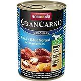 Animonda Gran Carno nourriture pour chien adulte, bœuf + de lignes avec pommes de terre, 1 pièce