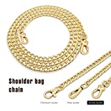 Sangle de chaîne en métal - Remplacement pour sac à main/sac à main/sac à bandoulière ou sac à...