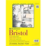 Strathmore Artist Papers 300 Series Bristol Board Paper Pad Vellum Surface (9' x 12')