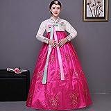 Ablerfly Hanbok Traditionnel coréen Traditionnel pour Femmes, Robe évasée à Manches Longues et Costumes...