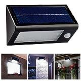 LingsFire étanche IP65 Super Bright 400 Lumens 32 LED lampe solaire détecteur de mouvement, lumière de nuit...