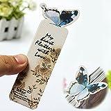 Bazaar Papillon signet note mémo cadeau style clip dessin animé de papier