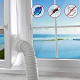 AGPTEK 400CM Joint de Fenêtre Tissu de Calfeutrage Résistant à l'eau Pour Toutes Climatisation Mobiles...