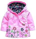 1-6 ans Enfants Manteaux Bébé Filles Garçons Imperméable Imperméable Vêtements pour les Enfants (100:...