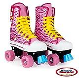 Patins à roulette / Rollers 4 roues avec frein avant Enfant Ado - Taille 33 - Funbee Colours - D'arpèje -...