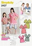 Simplicity K5 7-8- Bristol Novelty Patron de Couture pour Enfant/Filles Sportswear - 2437 Batido