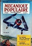 MECANIQUE POPULAIRE [No 74] du 01/07/1952 - DES MILLIARDS SOUS UNE MONTAGNE - LA MAISON DEPUIS 50 ANS -...