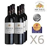 Sirius 2015 - Bordeaux rouge - Vin Rouge - 6 x 75cL