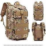 mdsqwl Sports de Plein air Multifonctions Camouflage Sac à Dos armée Fan randonnée Sac de randonnée...